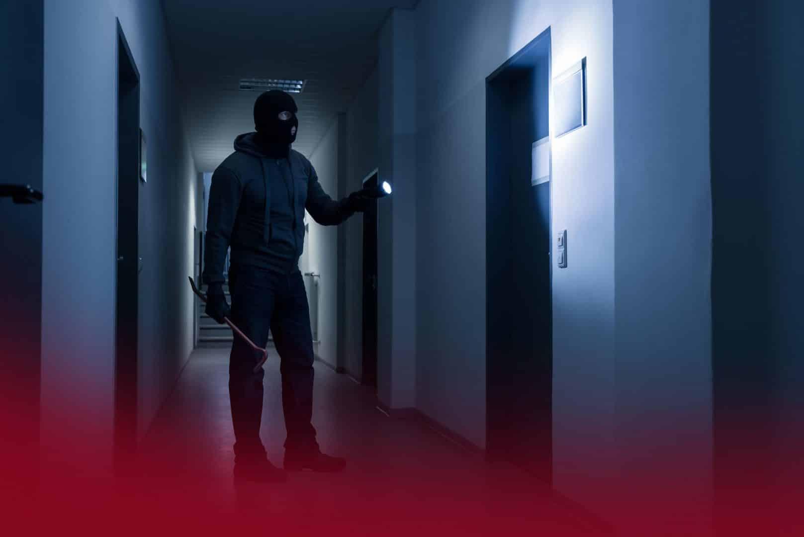Echec d'intrusion en raison de la présence d'une alarme