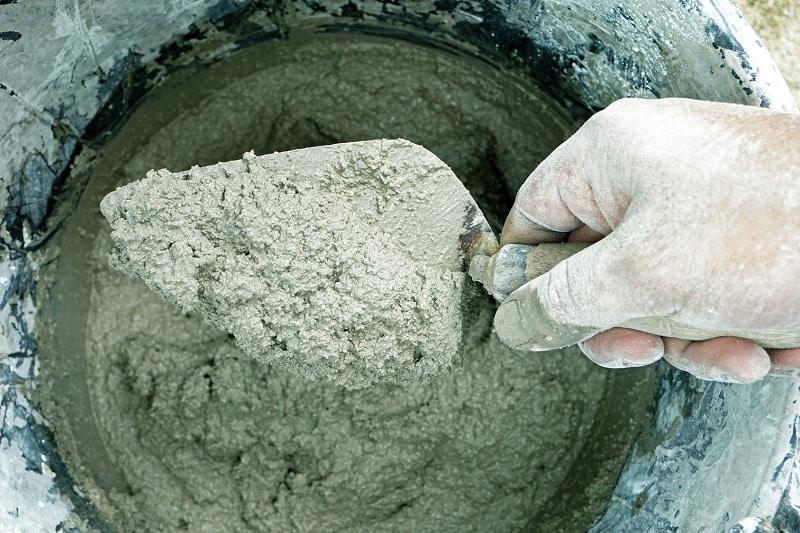 Comment faire du béton ou du mortier