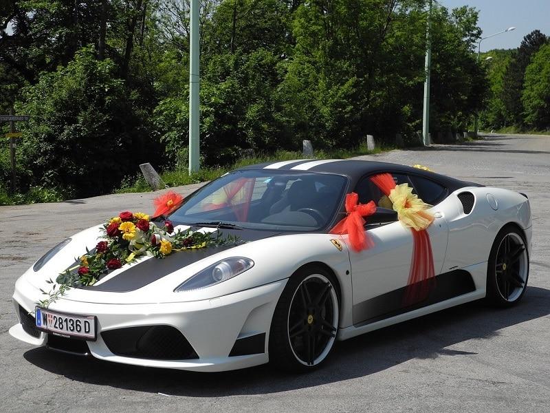 Décoration de voiture de mariage les meilleures idées de décoration