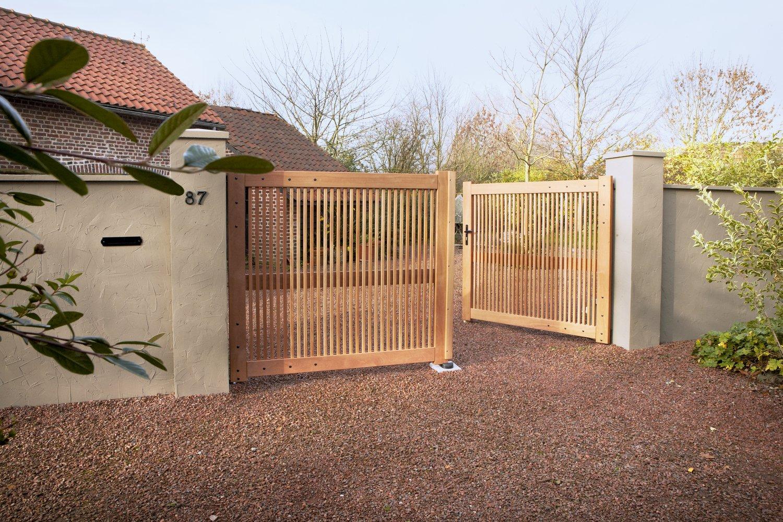 Les avantages du portail en bois