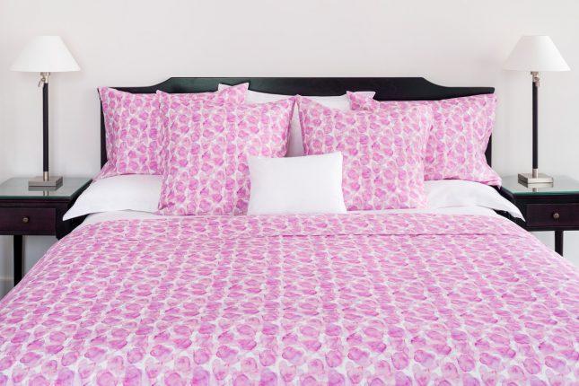Parure de lit petales de roses
