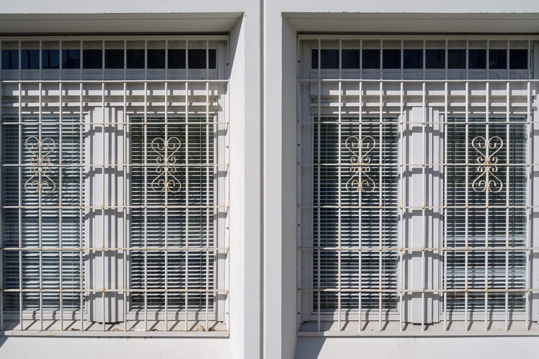 Des grilles de défense pour fenêtres