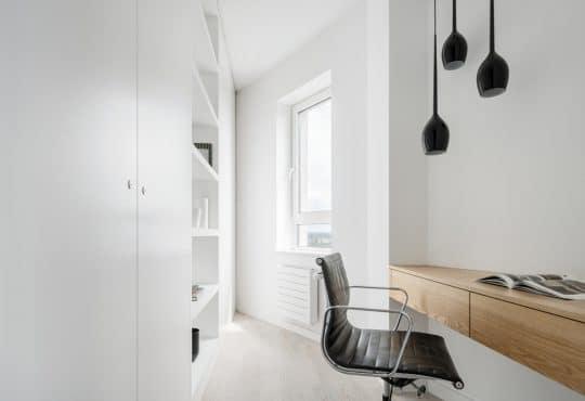 Bureau avec niche murale