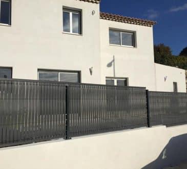 clôture extérieure
