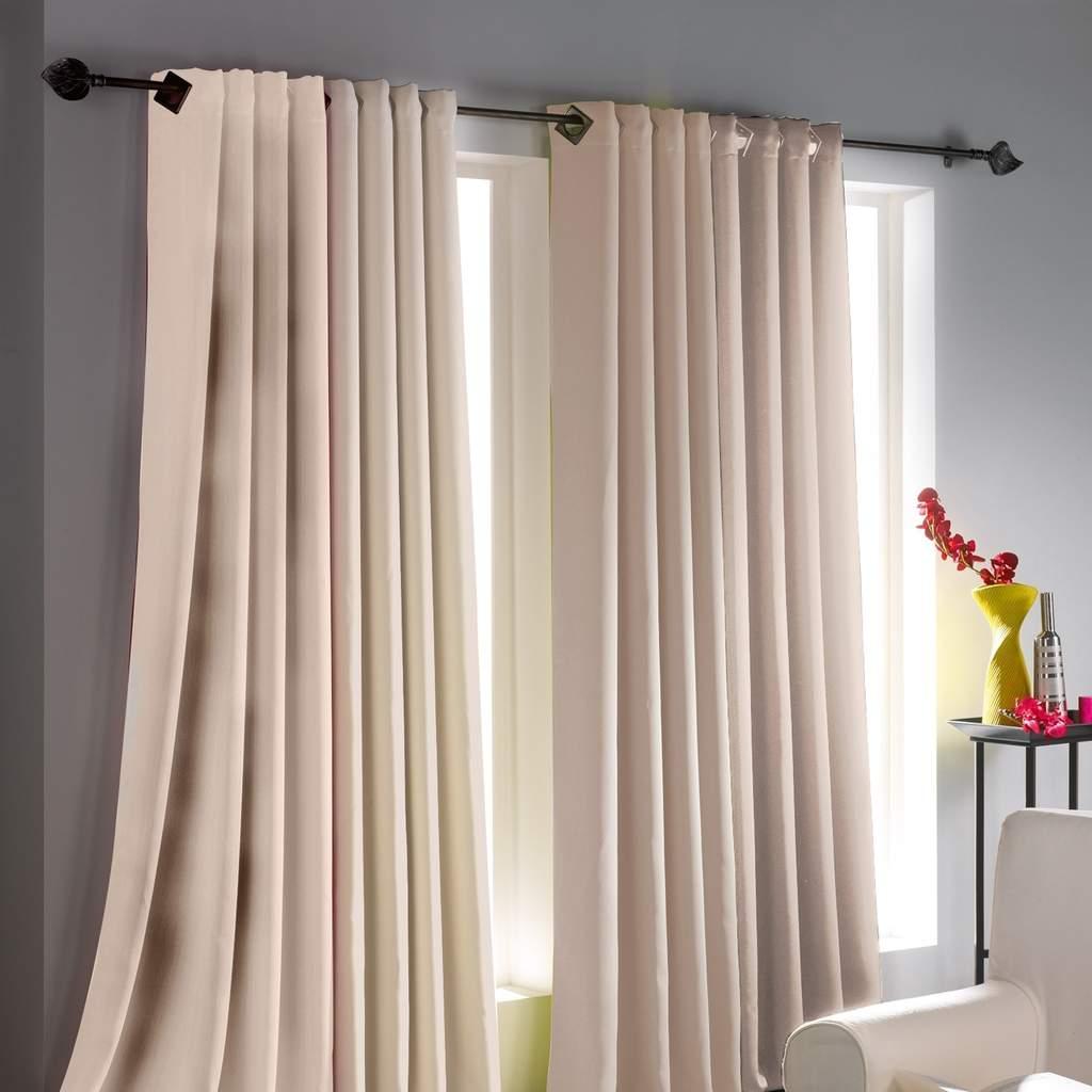 comment bien choisir les rideaux pour votre salon. Black Bedroom Furniture Sets. Home Design Ideas