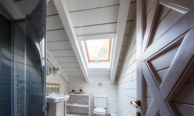 salle de bain à rénover